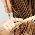 Pieptene din lemn de bambus pentru toate tipurile de păr