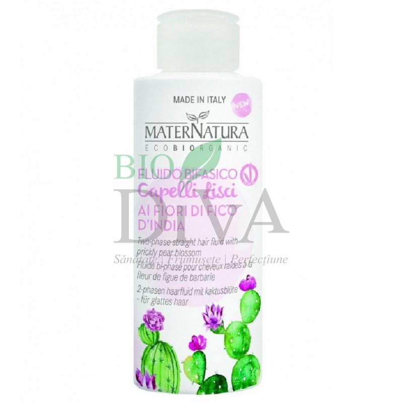 Fluid bifazic pentru păr cu cactus Maternatura