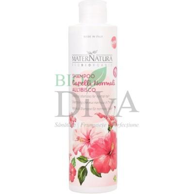 Șampon pentru păr normal cu hibiscus Maternatura
