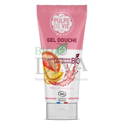 Gel de duș energizant cu grapefruit Pimp My Mousse Pulpe de Vie