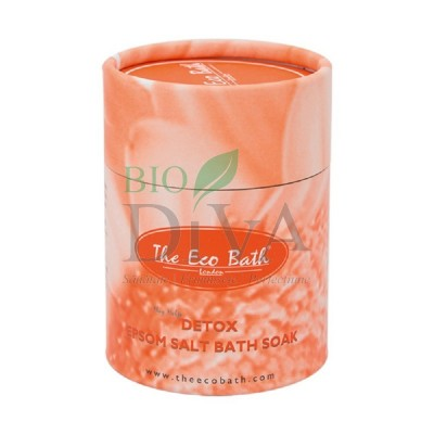 Sare de baie Epsom Detox cu grapefruit Eco Bath London