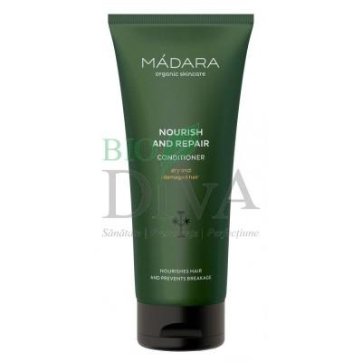 Balsam nutritiv și regenerant petnru păr uscat sau deteriorat MADARA