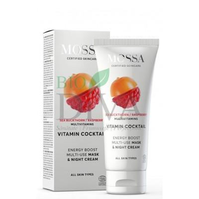 Cremă de noapte și mască pentru toate tipurile de ten Vitamin Cocktail Multi Use Mossa