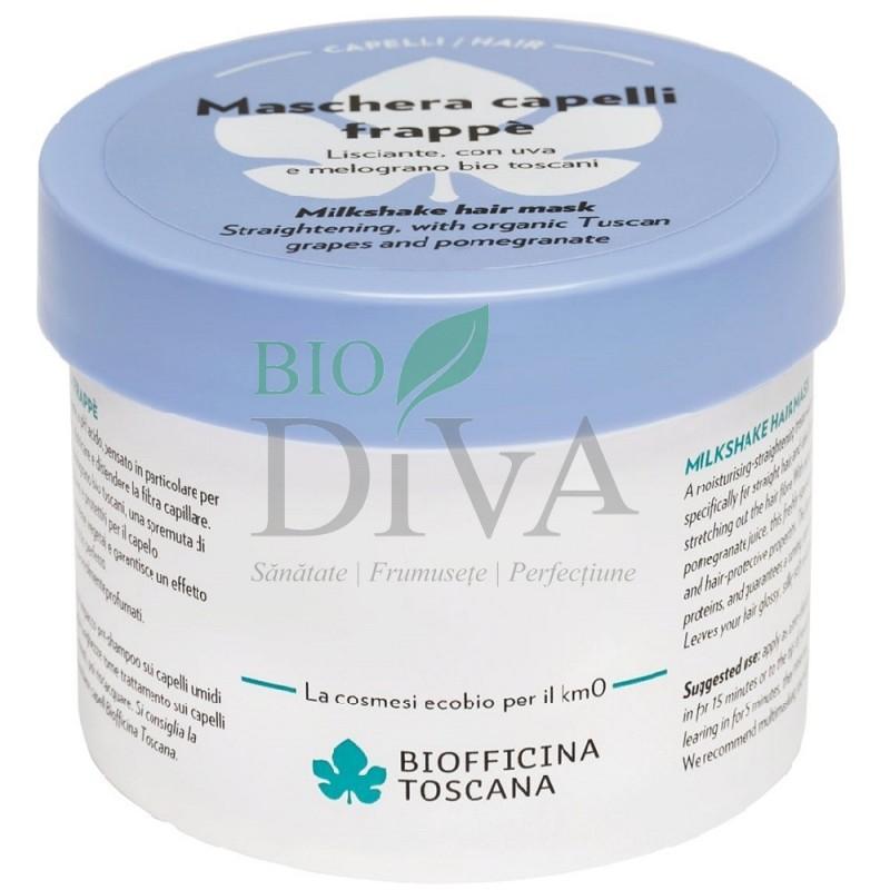 Mască de păr anti-frizz cu rodie Biofficina Toscana