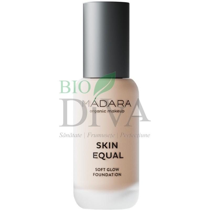Fond de ten Soft Glow SPF15 Skin Equal 10 Porcelain Madara