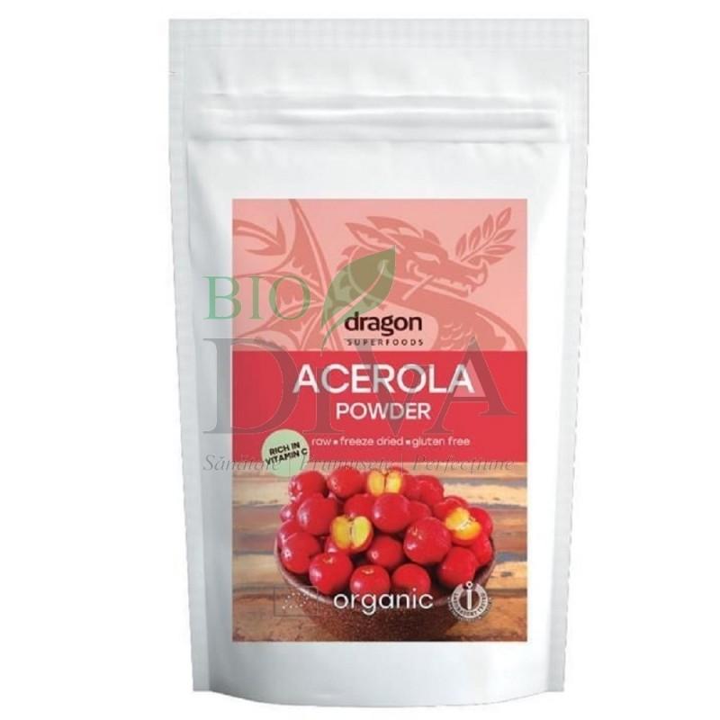 Pudră de Acerola Dragon Superfoods