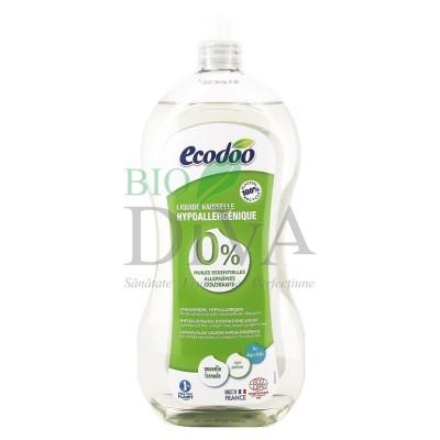 Detergent lichid pentru vase hipoalergenic Ecodoo