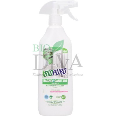 Detergent hipoalergenic bio pentru baie și obiecte sanitare BIOPURO