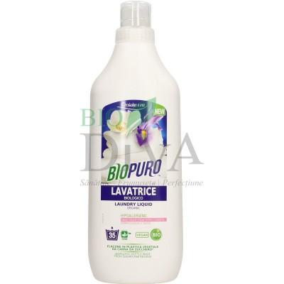 Detergent hipoalergenic pentru rufe albe și colorate BIOPURO