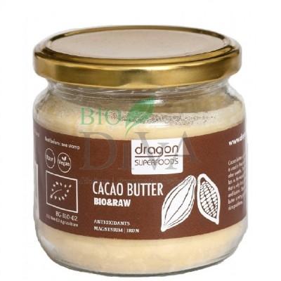 Unt de cacao bio Criollo 100g Dragon SuperFoods