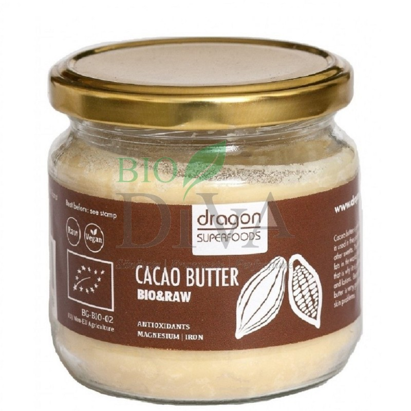 Unt de cacao bio Criollo Dragon SuperFoods