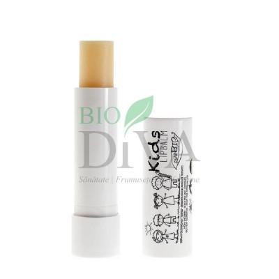 Balsam de buze pentru copii Kids PuroBio Cosmetics