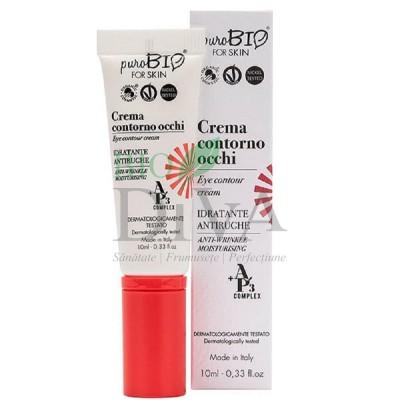 Cremă antirid hidratantă pentru ochi PuroBio Cosmetics