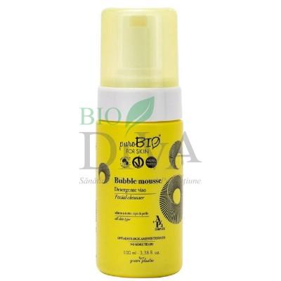 Spumă de curățare pentru toate tipurile de ten PuroBio Cosmetics