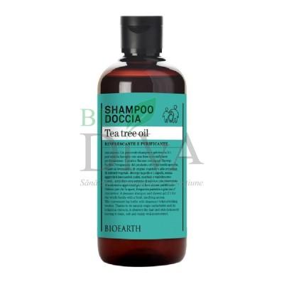 Șampon și gel de duș cu arbore de ceai Bioearth