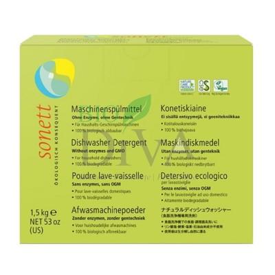 Detergent ecologic praf pentru mașina de spălat vase 1kg SONETT