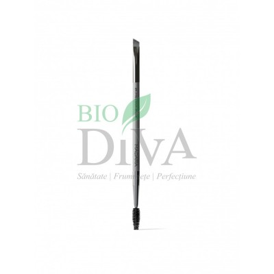 Perie pentru machiaj cu dublu aplicator Precision Brush Madara