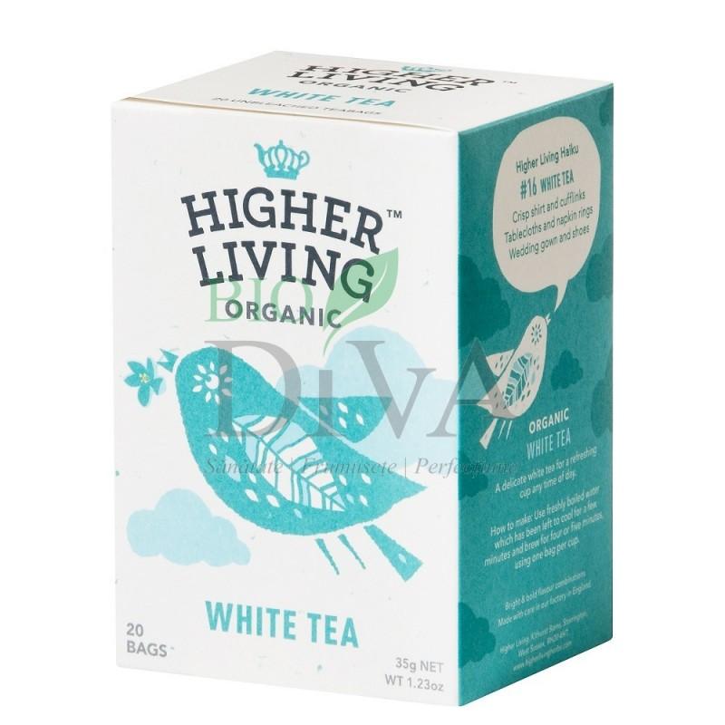 Ceai alb 20 plicuri Higher Living