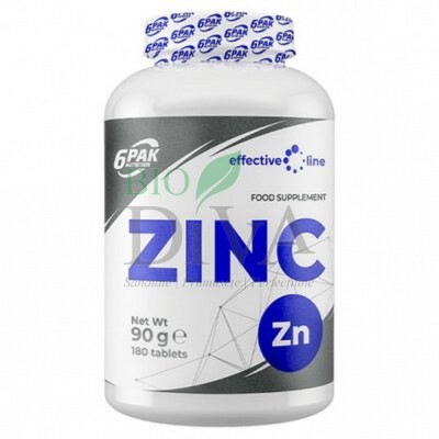 Zinc Tablete 180 tablete x 15mg 6Pak Nutrition