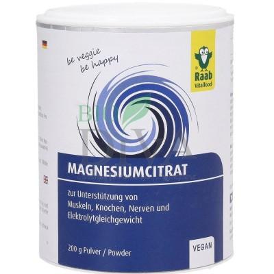 Citrat de magneziu 200g Raab VitalFood