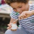 Pastă de dinți pudră cu portocale pentru copii Orange 60g Georganics
