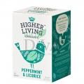 Ceai cu mentă și lemn dulce Peppermint & Licorice 15 plicuri Higher Living