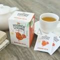 Ceai cu ginseng, ceai verde și cafea verde Morning Mojo Higher Living