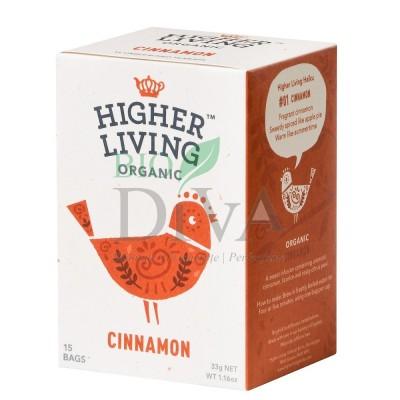 Ceai cu scorțișoară și lemn dulce Cinnamon Higher Living