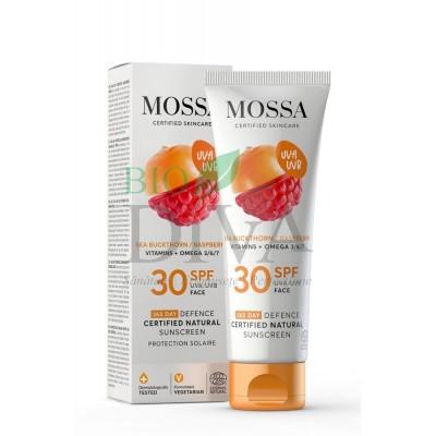 Cremă de soare SPF30 pentru față 365 Days Mossa
