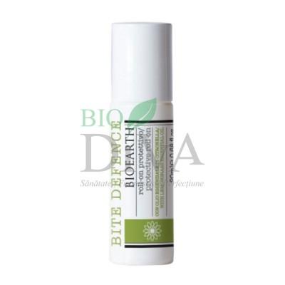 Roll-on împotriva țânțarilor cu lemongrass Bite Defence 20ml Bioearth