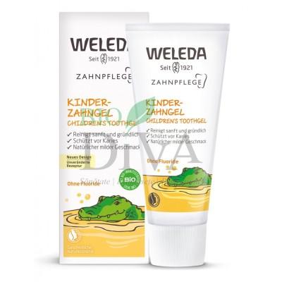 Gel de dinți pentru copii natural Weleda