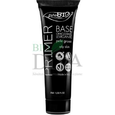 Primer bază de machiaj pentru ten gras PuroBio Cosmetics
