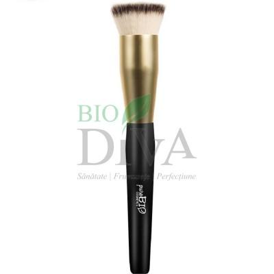 Pensulă pentru fond de ten 03 PuroBio Cosmetics