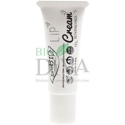 Cremă reparatoare bio pentru buze PuroBio Cosmetics