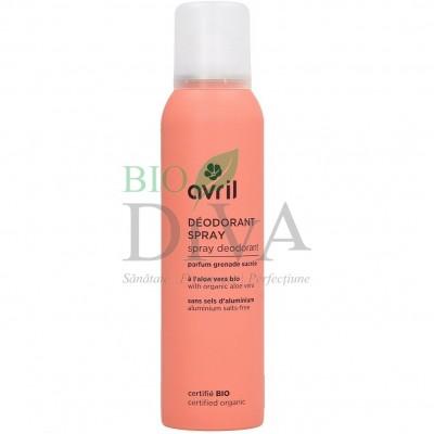 Deodorant spray pentru femei Avril