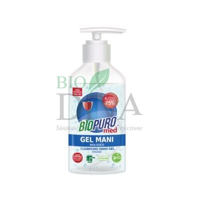 Gel igienizant bio pentru mâini 250ml Biopuro