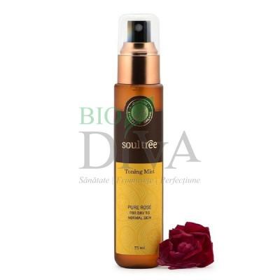Tonic cu apă de trandafiri 75ml Soultree