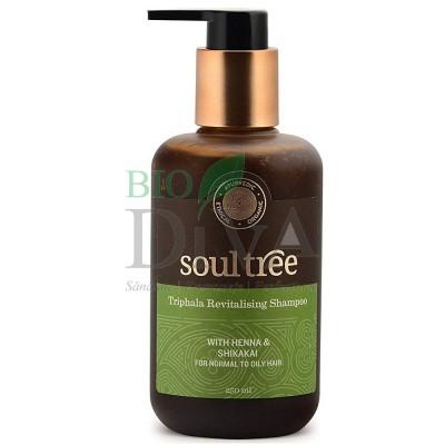 Șampon revitalizant cu triphala 250ml Soultree
