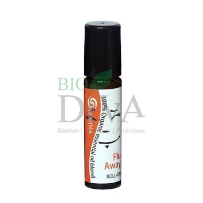 Roll-on din uleiuri esențiale Flu Away 10ml Armina