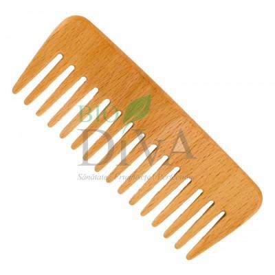 Pieptene din lemn de fag pentru păr ondulat Forster's Natural Products