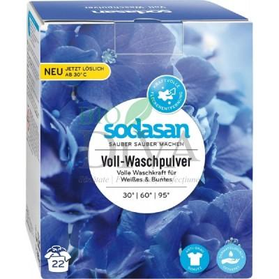 Detergent praf bio pentru spălări grele rufe albe și colorate 1010g SODASAN