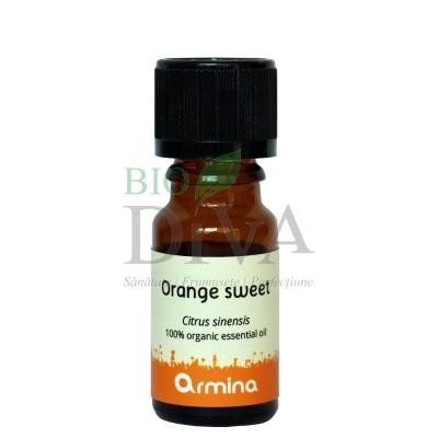 Ulei esențial de portocală dulce Citrus Sinensis 10ml Armina