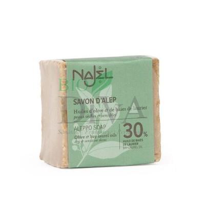 Săpun de Alep 30% ulei de dafin 185g Najel
