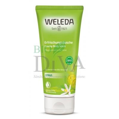 Loțiune de duș cu citrice Weleda
