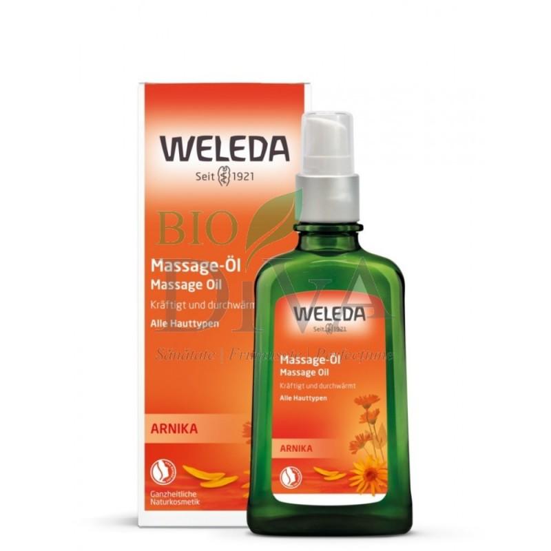 Ulei de masaj cu extract de arnică Weleda