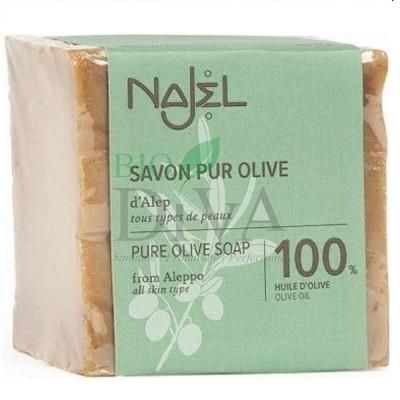 Săpun de Alep cu 100% ulei de măsline Najel