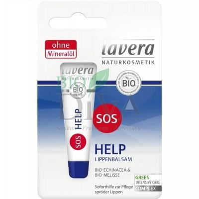 Balsam de buze pentru hidratare intensivă SOS Help 8ml Lavera