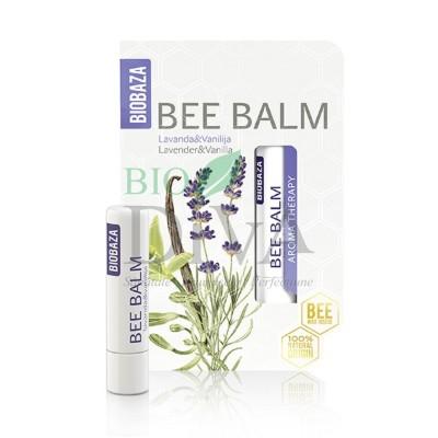 Balsam de buze cu lavandă și vanilie 4,5g Biobaza