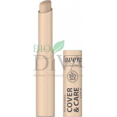 Stick corector pentru imperfecțiuni și acnee Ivory 01 4,5g Lavera