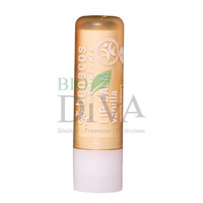 Balsam de buze cu unt de shea și vanilie 4,8 g Benecos